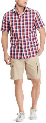 Chaps Men's Classic-Fit Patterned Button-Down Shirt