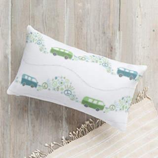 Peace Van Self-Launch Lumbar Pillows