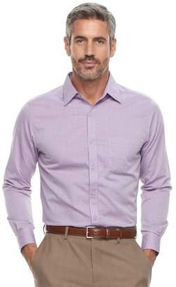 Haggar Men's Classic-Fit Button-Down Shirt