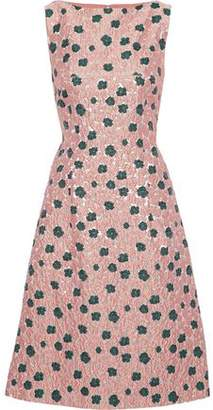 Lela Rose Brocade Dress