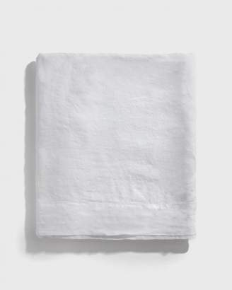 Matteo Home White Vintage Linen Tablecloth