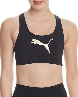 PUMA Powershape Forever Logo Sports Bra $28 thestylecure.com