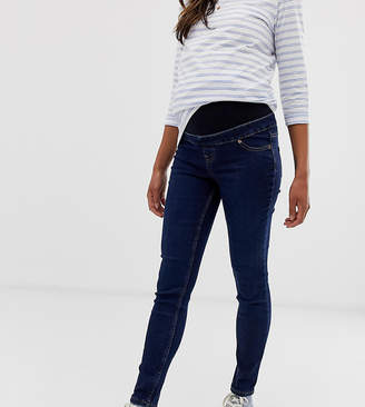 New Look Maternity jeggings in blue