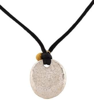 Gurhan Two-Tone Pebble Pendant Necklace