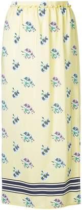 Markus Lupfer floral print skirt