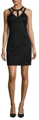 GUESS Cutout Neck Dress