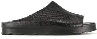 O.x.s. Rubber Soul woven slidder sandals