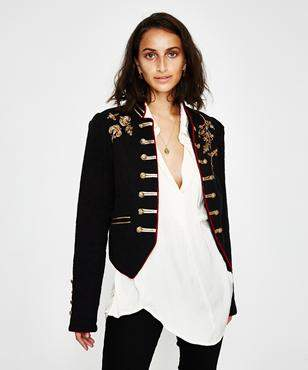 Free People Lauren Band Jacket