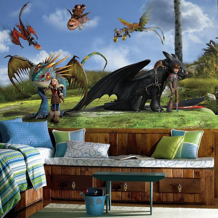 Roommates DreamWorks How To Train Your Dragon 2 Wall Mural by RoomMates