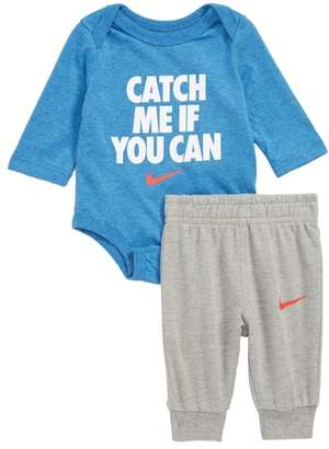 Nike Catch Me If You Can Bodysuit & Pants Set