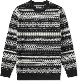 Barbour Case Fair Isle Crew Knit