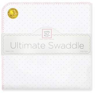 Swaddle Designs Ultimate Swaddle Blanket Premium Cotton Flannel Classic Polka Dots