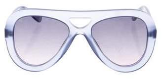 Derek Lam Charlotte Aviator Sunglasses