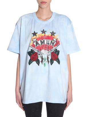 Amen Oversize Fit T-shirt