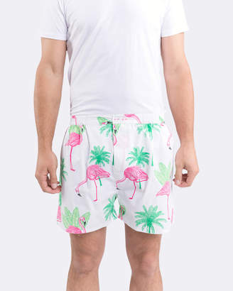 Flamingo Men's Boxer Shorts
