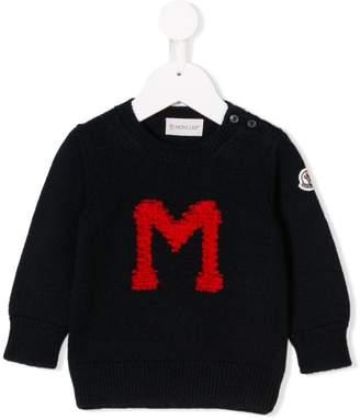 Moncler M knit sweater