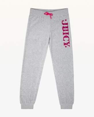 Juicy Couture Juicy Magnifique Velour Zuma Pant for Girls