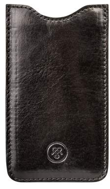 Samsung Maxwell Scott Bags Italian Crafted Black Leather Galaxy S3 Case