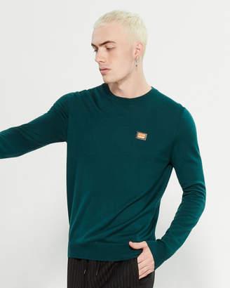 Love Moschino Hardware Long Sleeve Sweater