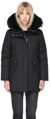 Mackage MARLA-B MID LENGTH WINTER DOWN COAT WITH FUR