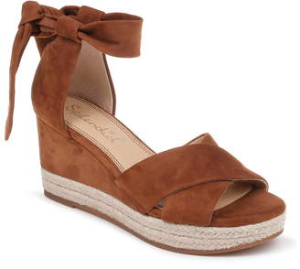 Splendid Terrence Ankle Wrap Wedge Sandal