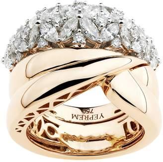 Yeprem Rose Gold Cluster Ring