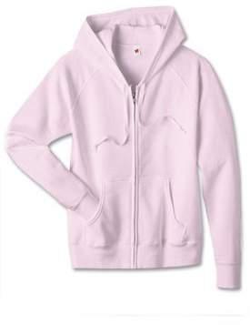Hanes Women's Fleece Full-Zip Hood 8oz. Sweatshirt