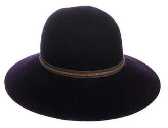 Rag & Bone Wool Wide-Brim Hat
