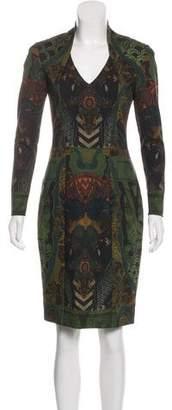 Etro Long Sleeve Knee-Length Dress
