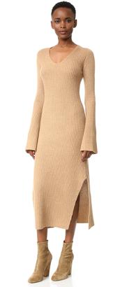 Derek Lam Ribbed Cashmere Sweater Dress $1,695 thestylecure.com