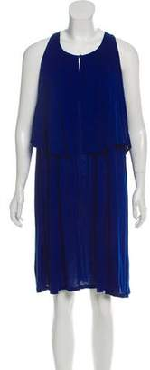 Stella McCartney Sleeveless Fluted Dress