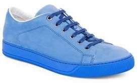Lanvin Suede Low Top Sneakers