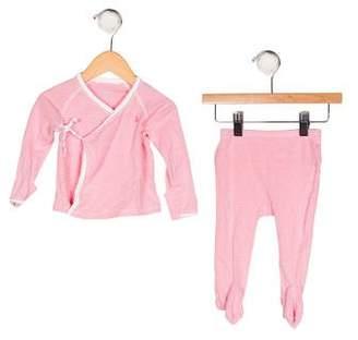 Ralph Lauren Girls' Striped Pants Set