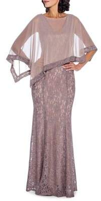 Decode 1.8 Lace Poncho Gown