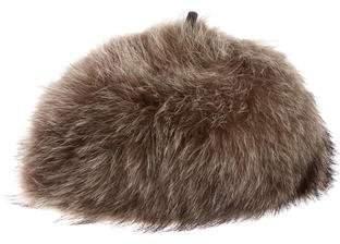 J. Mendel Fox Fur Hat