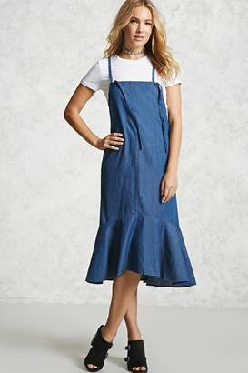 Forever 21 Contemporary Chambray Dress
