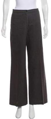 Dries Van Noten Mid-Rise Wide-Leg Pants