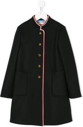 Gucci Kids contrast trim coat
