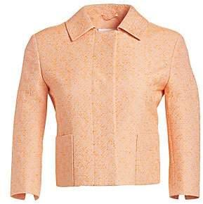 Akris Punto Women's Cropped Tweed Jacket