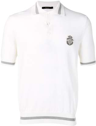 Billionaire crest polo T-shirt