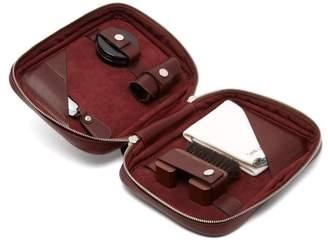 John Lobb Shoe care leather travel case