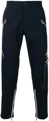 Dolce & Gabbana zip detail tapered trousers