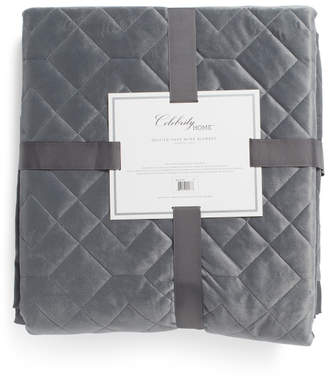 Plush Quilted Blanket