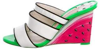 Sophia Webster Brooke Watermelon Wedges