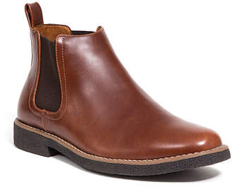 Deer Stags Mens Rockland Chelsea Boots Block Heel Pull-on