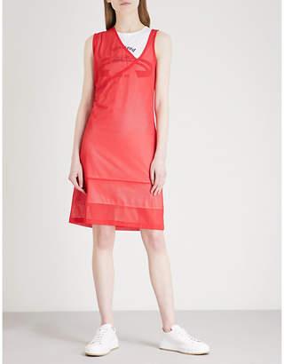 Helmut Lang Re-Edition Diamond Head sports mesh and cotton dress