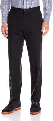 Dockers Classic Fit FF Signature Khaki Stretch Pant, Black, 36x30