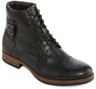 COLLECTION Collection by Michael Strahan Mens Lace Up Boots