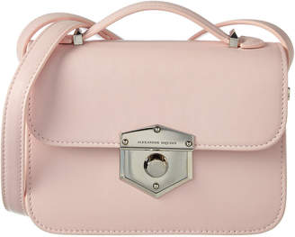Alexander McQueen Small Wicca Leather Crossbody
