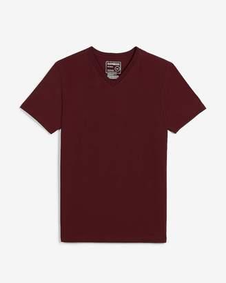 Express Slim Stretch V-Neck T-Shirt